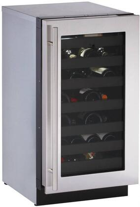 "U-Line 3018WCS15 17.75"" Built-In Wine Cooler, in Stainless Steel"