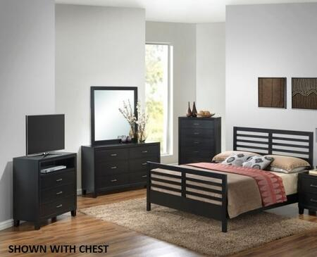 Glory Furniture G1250CQB2DMTV G1250 Queen Bedroom Sets