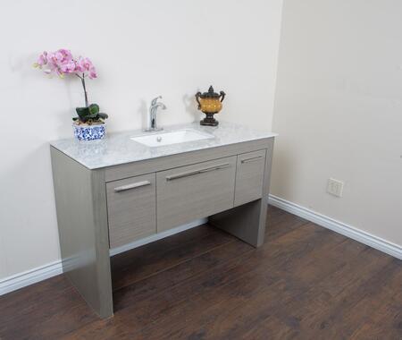 Bellaterra Home 804380RGY 55.3 Single Sink Vanity - Gray