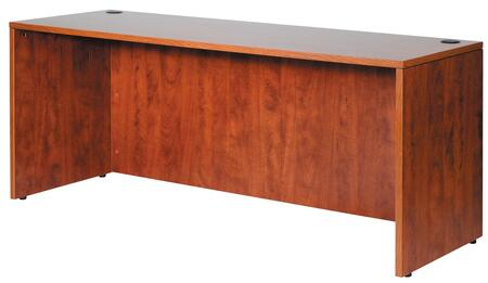 "Boss N143 71"" x  24"" Credenza Shell with 3mm PVC Edge Banding"