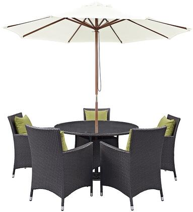 Modway EEI2193EXPPERSET Round Shape Patio Sets