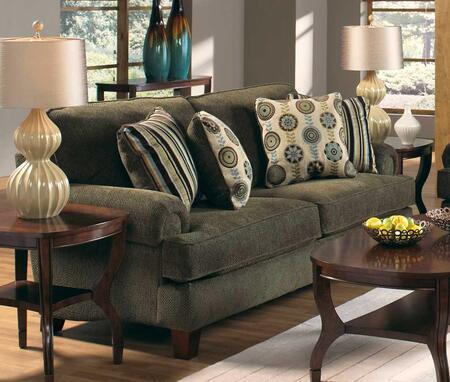 Jackson Furniture 317803  Stationary Chenille Fabric Sofa