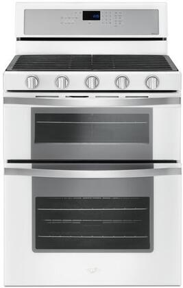 "Whirlpool WGG745S0F 30"" Freestanding Gas Double Oven Range with 6 Cu. Ft. Oven Capacity, True Convection, Frozen Bake Technology, Temperature Sensor, Hidden Bake-Element, and SpeedHeat Burner, in"