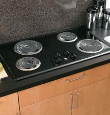 GE JP626BKBB  Electric Cooktop, in Black