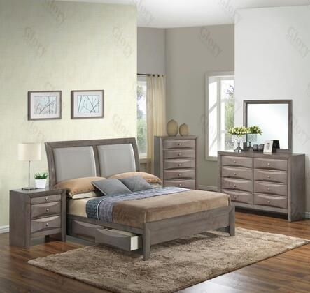 Glory Furniture G1505DDTSB2DMN G1505 Twin Bedroom Sets