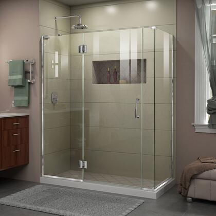 DreamLine Unidoor X Shower Enclosure 24HP 30D 6IP 30RP 01
