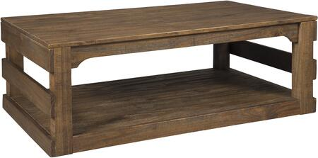 Signature Design by Ashley T7951 Brown Casual Table