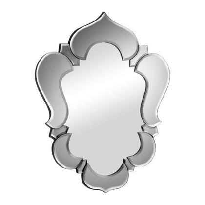 Zuo 85001X Vishnu Accents Wall Mirror with X Trim