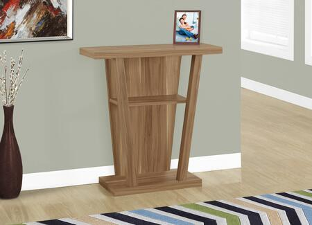 "Monarch I24X 34"" Accent Table with Open Shelves, Three Tiered and Modern Design"