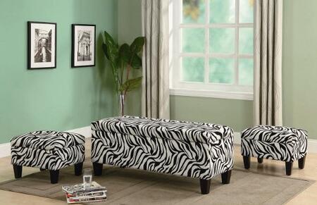 Coaster 501083  Fabric Bench