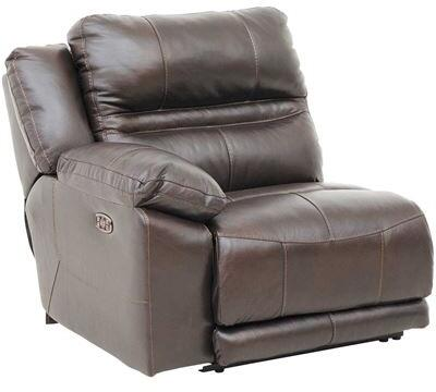 Catnapper 764186128309308309 Bergamo Series Leather Metal Frame  Recliners