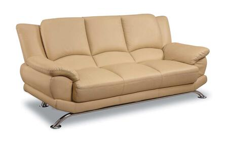 Global Furniture USA 9908CAPS  Leather Sofa