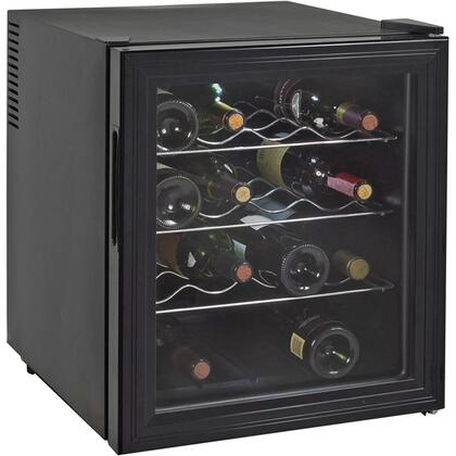 "Avanti EWC16B 17"" Freestanding Wine Cooler, in Black"
