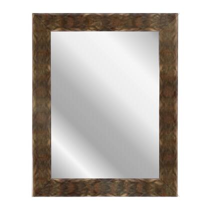 Hitchcock Butterfield 68510X Reflections Sunset Copper Framed Wall Mirror