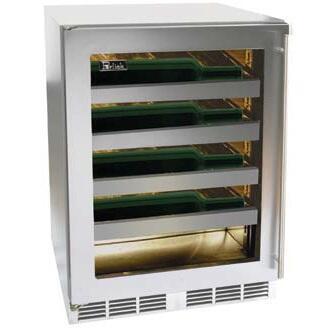 "Perlick HH24WS4RDNU 23.875"" Built-In Wine Cooler"