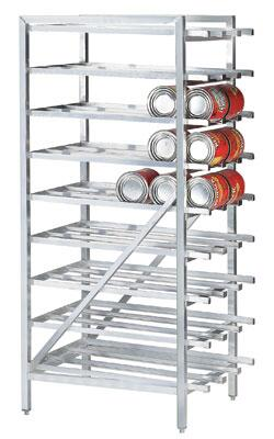 Advance Tabco CR10-162 Full Can Rack with Sloped Glides