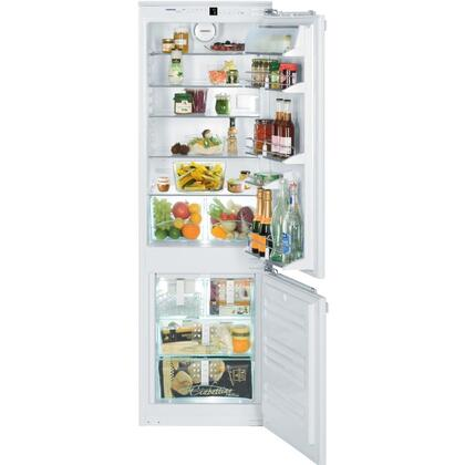 "Liebherr HC1050 22"" Counter Depth Bottom Freezer Refrigerator with 9.3 cu.ft. Total Capacity 2.3 cu.ft. Freezer Capacity 3 Glass Shelves"