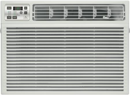 GE AEExDT Window Air Conditioner with x Cooling BTU, x Heating BTU, x CFM, 3 Fan, Cooling and Heating Speeds, in White