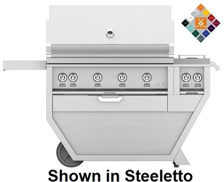60 in. Deluxe Grill with Side Burner   Froth