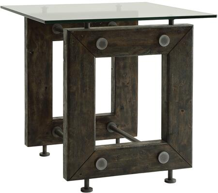 Coaster 704277 70427 Series Transitional Wood Square None Drawers End Table