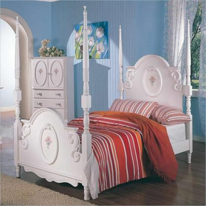 Coaster 400100T Sophie Series  Twin Size Standard Bed