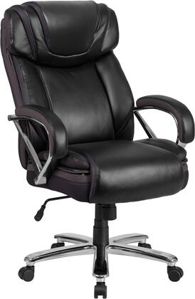 """Flash Furniture HERCULES Series GO-2092M-1-XX-GG 44"""" - 47"""" Executive Office Chair with Extra Wide Seat, Built-In Lumbar Support and Dual Wheel Casters in"""