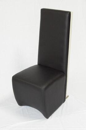 VIG Furniture VGUN0020PL1 Armani Xavira Series Modern Leather Wood Frame Dining Room Chair