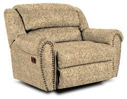 Lane Furniture 21414198816 Summerlin Series Transitional Fabric Wood Frame  Recliners