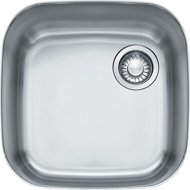 Franke GNX110 EuroPro Series Undermount Single Bowl Sink in Stainless Steel