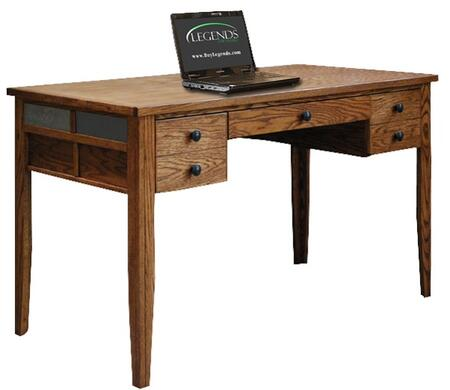 Legends Furniture OC6210GDO Oak Creek Series Writing  Wood Desk