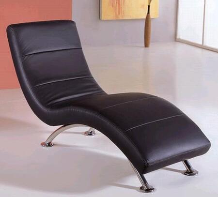 Global Furniture USA 820BL Modern  Chaise Lounge