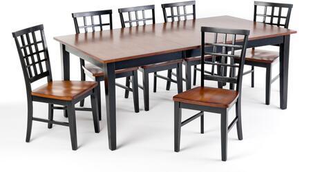 Intercon Furniture ARTA42781856BLJ Arlington Dining Room Set