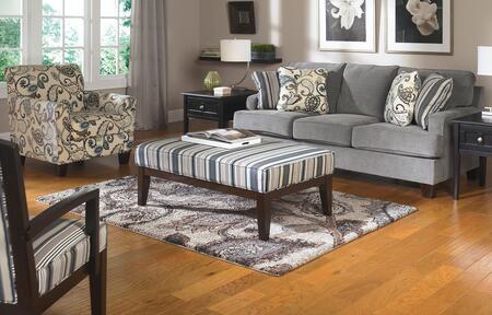 Milo Italia MI4987KIT4PCSTEE Adrienne Living Room Sets
