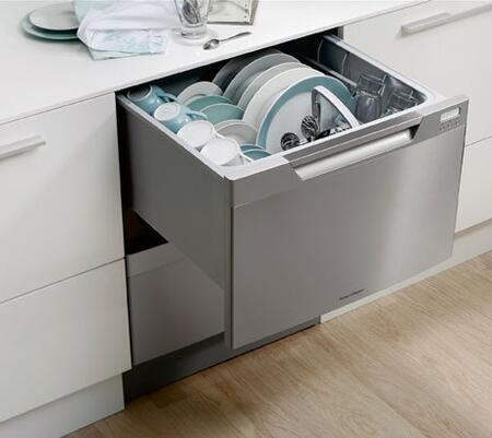 Fisher paykel dd24di6v2 dishdrawer series drawers semi integrated dishwasher with in panel ready - Fisher paykel dishwasher drawer reviews ...