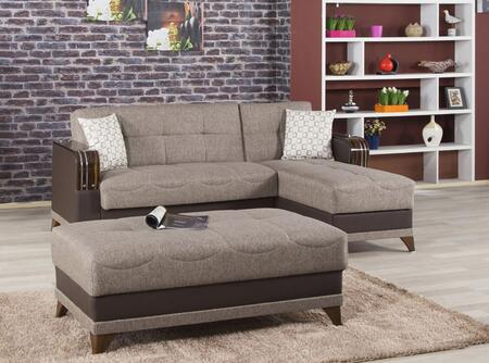 Comet Brown Sectional
