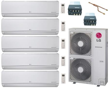LG 704727 5-Zone Mini Split Air Conditioners