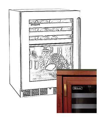 Perlick HP24CS4L  Built-In Beverage Center