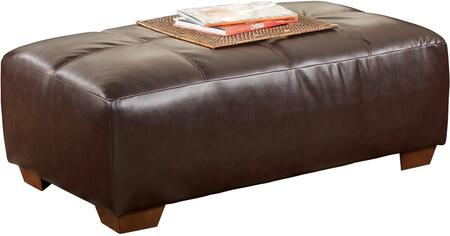 Signature Design by Ashley 4480008 Fairplay DuraBlend Series Contemporary DuraBlend Wood Frame Ottoman