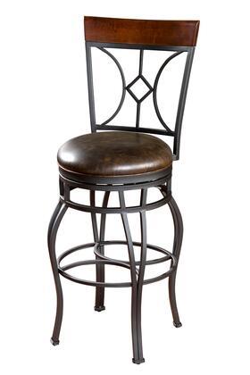 American Heritage 130901GRA Starletta Series Residential other Upholstered Bar Stool