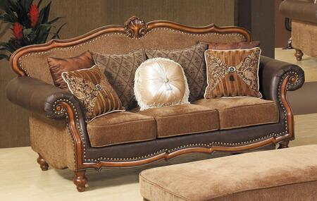 Meridian 677S  Fabric Sofa