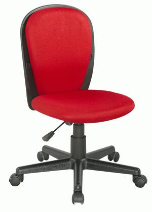 "Chintaly 4245CCHRED 17.32"" Childrens Office Chair"