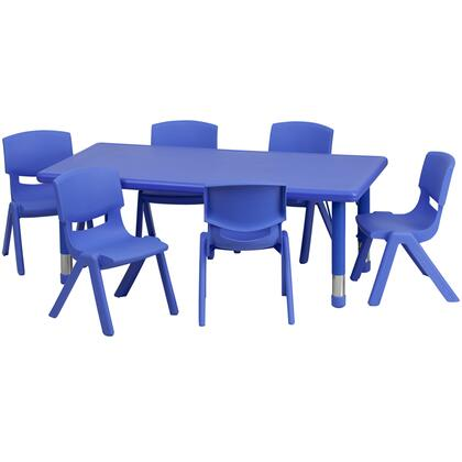 Flash Furniture YUYCX00132RECTTBLBLUEEGG