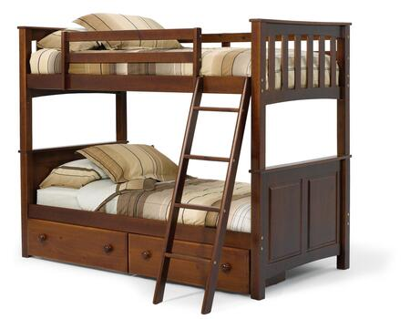 Chelsea Home Furniture 3652000S  Twin Size Bunk Bed