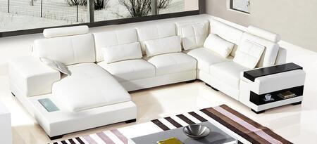 VIG Furniture VGYIT2853 Divani Casa Diamond Series Stationary Bonded Leather Sofa