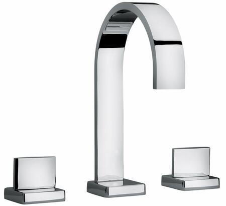 Jewel Faucets 15102XX Two Lever Handle Roman Tub Faucet With Classic Ribbon Spout