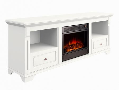 Argo Furniture L06B19 Aleixo Series Direct Vent Electric Fireplace