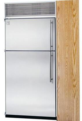 Northland 36TFWSR Built In Counter Depth Top Freezer Refrigerator with 23.6 cu. ft. Total Capacity 8 Glass Shelves 7.3 cu. ft. Freezer Capacity