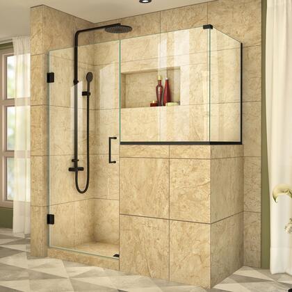 DreamLine UnidoorPlus Shower Door 39 30D 30BP 30RP 09