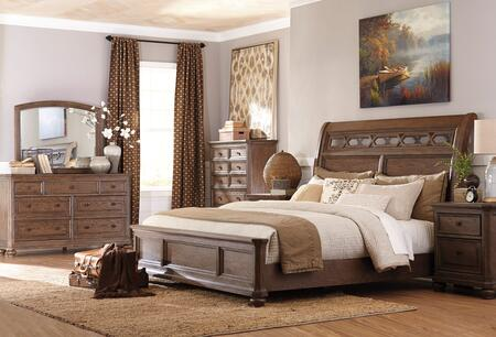 Signature Design by Ashley B709KSBDMNC Maeleen King Bedroom