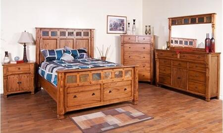 Sunny Designs 2322ROKBDM2NC Sedona King Bedroom Sets